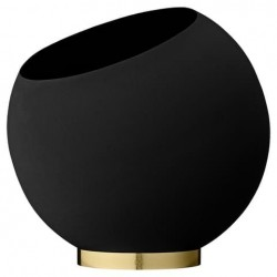 Globe Flower Pot Ø37 cm, Black