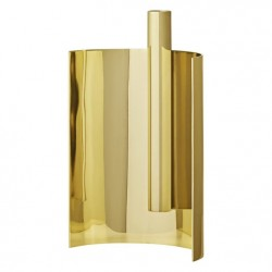 ASTO candle holder L15,5xW7,5xH21 cm - Gold