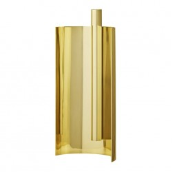 ASTO candle holder L15,5xW7,5xH30 cm - Gold