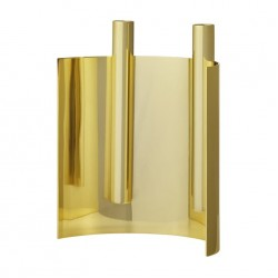 ASTO candle holder L20,5xW10xH21 cm - Gold
