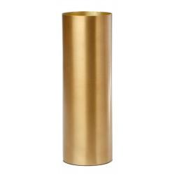 Polished Cylinder Vase - Brass
