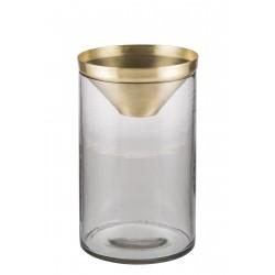 Botanical Vase - Large Brass