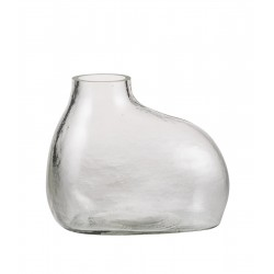 Bulb Vase Rounded - Clear