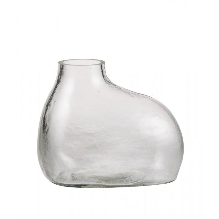 Bulb Vase Rounded - Clear-DZ17ZK170203012NCLR