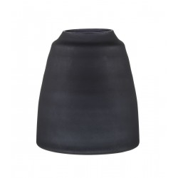Tapered Vase - Black Frost