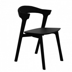 Ethnicraft Oak Bok Chair Black