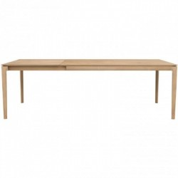 Ethnicraft Oak Bok Extendable Dining Table 180/280 x 100x76