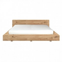 Ethnicraft Oak Madra King Bed-Ethnicraft