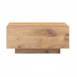 Ethnicraft Oak Madra Bedside Table 1 Drawer-Ethnicraft