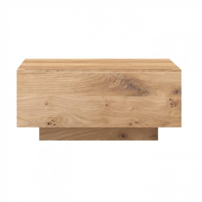 Ethnicraft Oak Madra Bedside Table 1 Drawer-51200