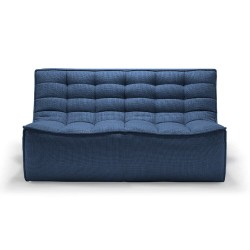 Ethnicraft  Sofa N701 – 2 seater Blue
