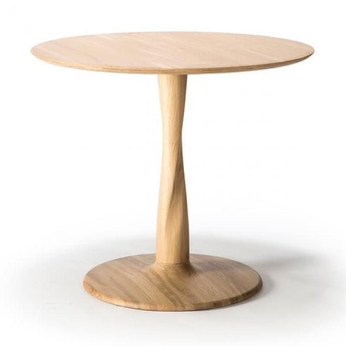 Ethnicraft  Oak Torsion Dining Table 90/90/76-50018