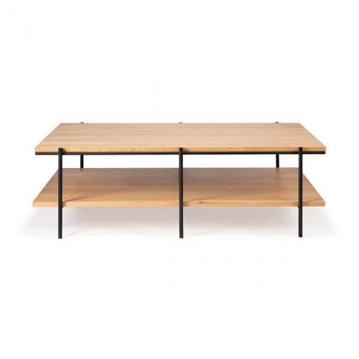 Ethnicraft Oak Rise coffee table, 120/70/37-50139