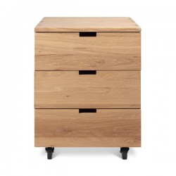 Ethnicraft Oak Billy Box drawer unit-Ethnicraft