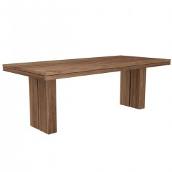 Ethnicraft Teak Double Dining Table 180/90/76