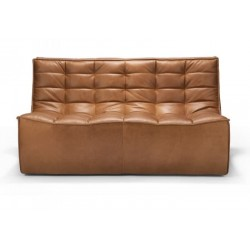 Ethnicraft  Sofa N701 – 2 seater Old saddle