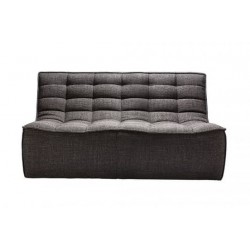 Ethnicraft  Sofa N701 – 2 seater Dark Grey