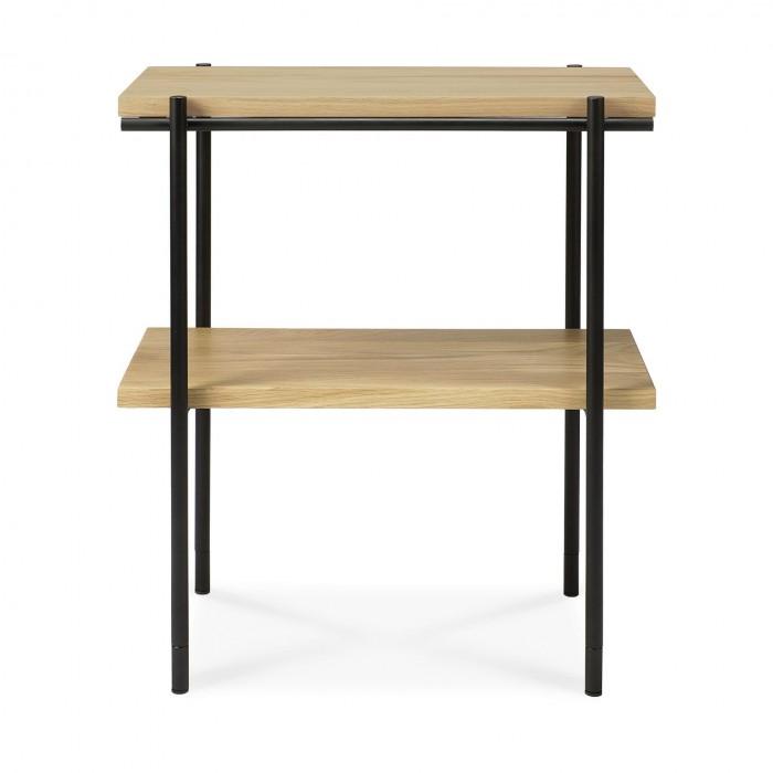 Ethnicraft Oak Rise side table, 50/30/55-50134