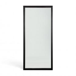 Ethnicraft Oak Light Frame black floor mirror - varnished-Ethnicraft