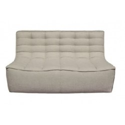 Ethnicraft  Sofa N701 – 2 seater Dark Beige