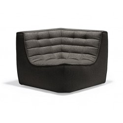 Ethnicraft N701 SOFA – CORNER Dark Grey