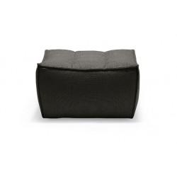 N701 SOFA – FOOTSTOOL Dark Grey-Ethnicraft