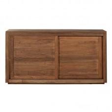 Teak Pure sideboard - 2 sliding doors 150/47/80-Ethnicraft