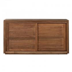 Teak Pure sideboard - 2 sliding doors 150/47/80