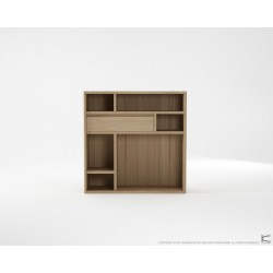 Circa Cupboard Combo Type 1 - European Oak