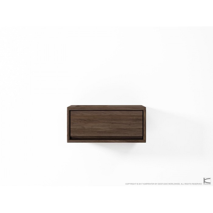 Circa Hanging Cabinet with Drawer - American Walnut