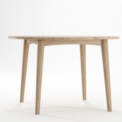 Grasshopper Round Dining Table 120cm - Oak