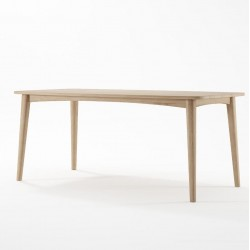 Grasshopper Rectangular Dining Table 180cm - Oak