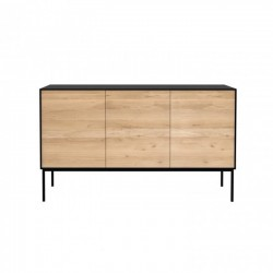 Ethnicraft Oak Blackbird sideboard, 3 doors 150/45/85