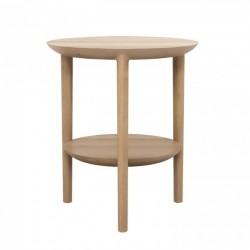 Ethnicraft Oak Bok side table 43/50