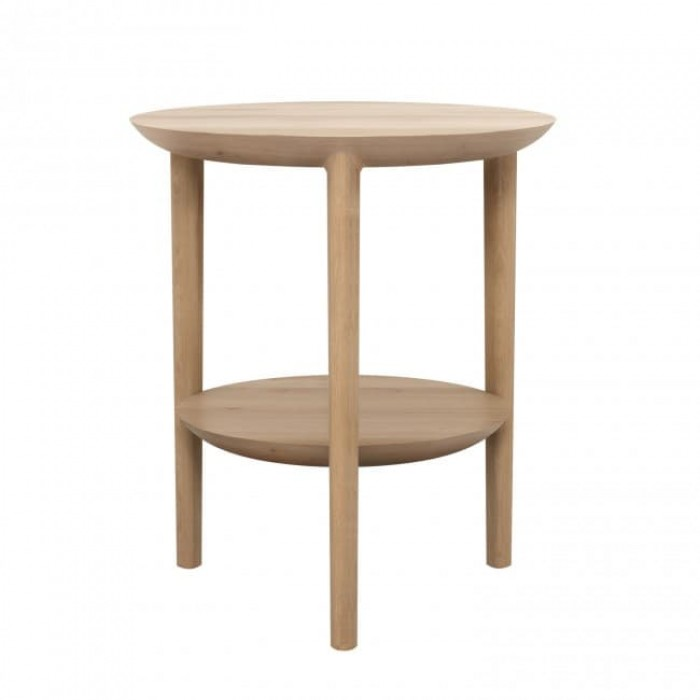 Ethnicraft Oak Bok side table 43/50-Ethnicraft