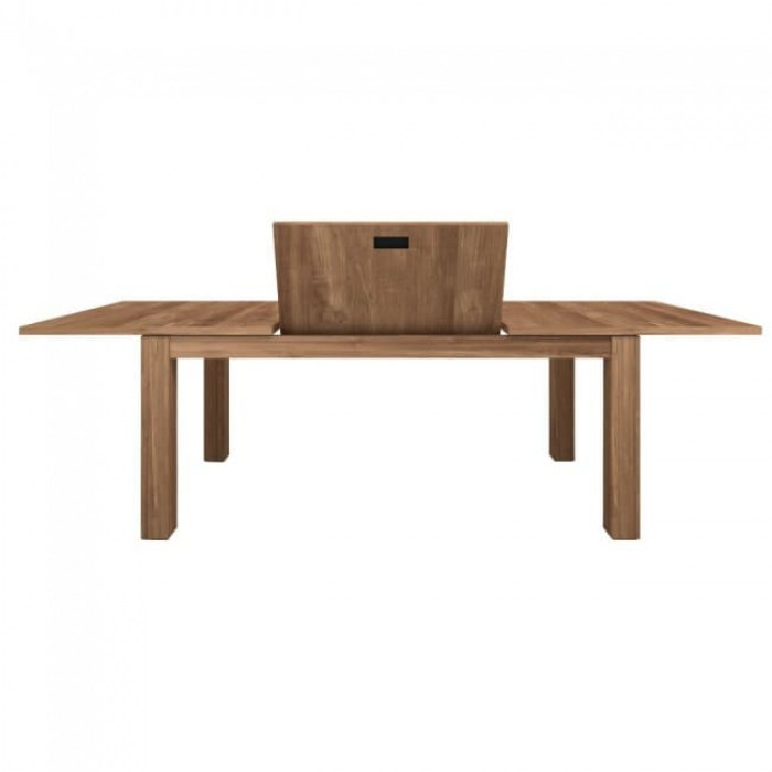 Ethnicraft Teak Stretch Extension Dining Table 140-220/90/78-11948