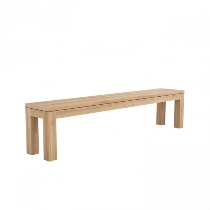 Ethnicraft Oak Straight Bench-50385