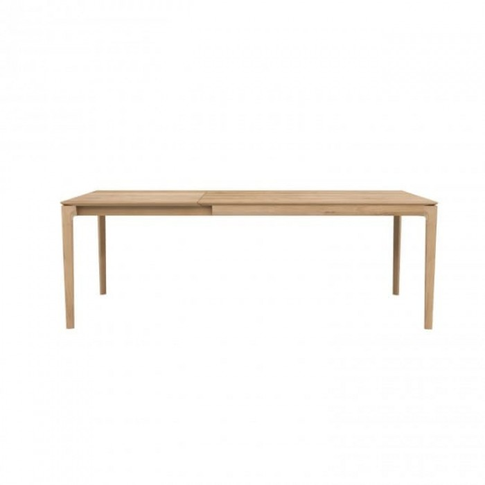 Ethnicraft Oak Bok Extendable Dining Table-51502