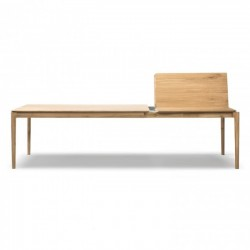 Ethnicraft Oak Bok Extendable Dining Table 180/280 x 100x76-Ethnicraft