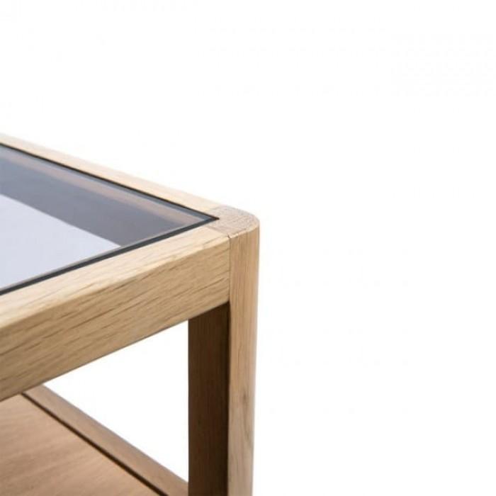 Ethnicraft Oak Spindle Bedside Table-51245