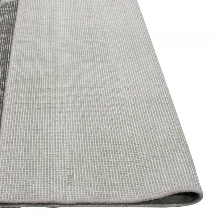 Paris Wool, Viscose & Cotton Grey 250x350