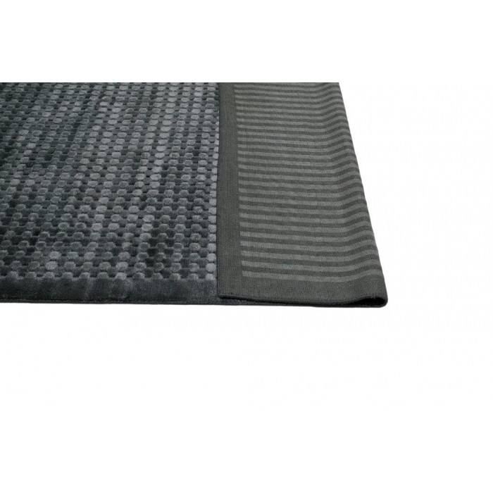 Luxe Spotted Viscose Charcoal 160x230