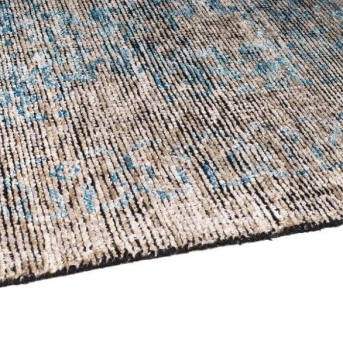 Revival Khotan Wool & Viscose Washed Indigo 200x300