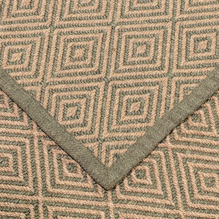 Seasons Diam Handbraided Olefin Natural Khaki 200x300