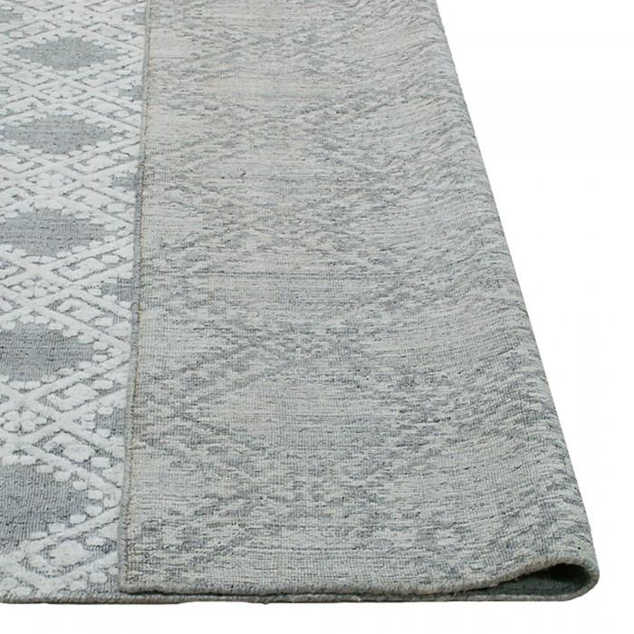 Timeless Elegance Wool & Viscose Natural Grey 350x450