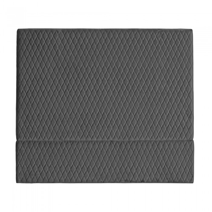 COCO VELVET BED HEAD - KING 140H X 190W CHARCOAL