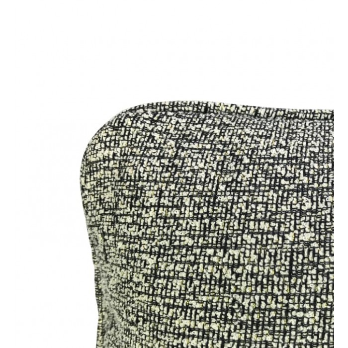COCO PIPED VELVET CUSHIONS - SELF TRIM (FEATHER FILL) 55 x 55 TEXTURED GREY