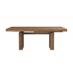 Ethnicraft Teak Double Extendable dining table 200-300/100/76