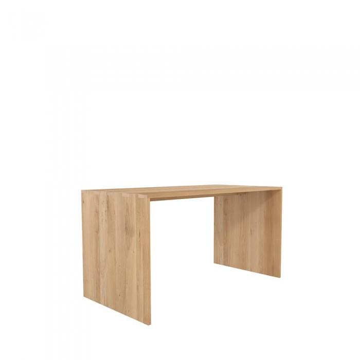 Ethnicraft Oak office U table 140/72/75-50001