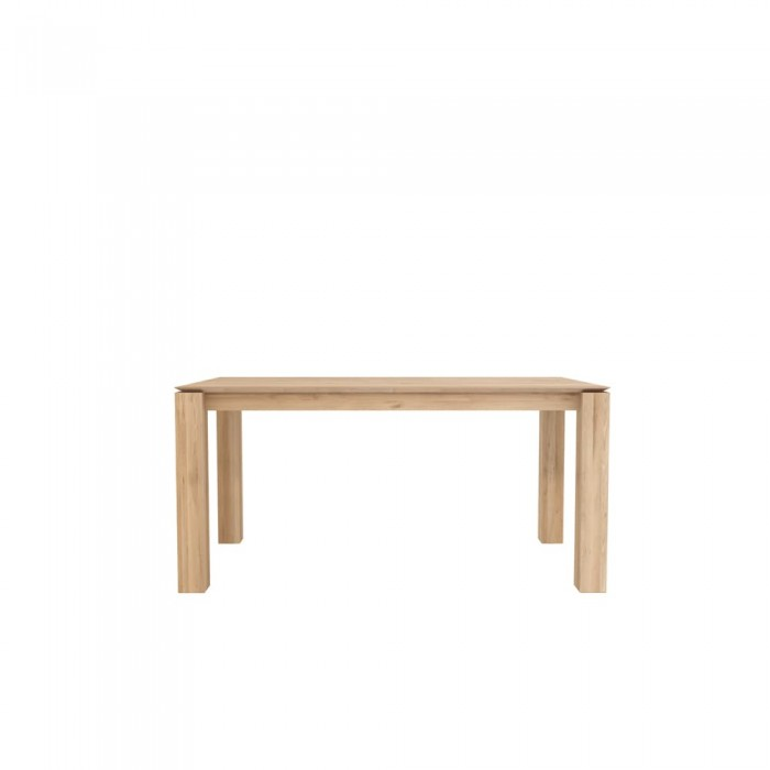 Ethnicraft Oak Slice dining table 160/90/76-Ethnicraft